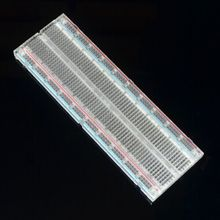 Crystal ! Solderless Solder Less Breadboard Protoboard 2 buses Tie-point Tiepoint 830(China)