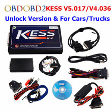 KESS V2 SW2.32 HW4.036/KESS V5.017 OBD2 Manager Tuning Kits No Token Limited KESS 5.017 Use Online ECU Programmer Master Version