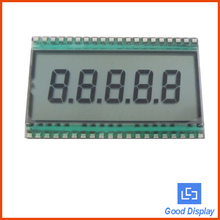 Standard 5 digits tn lcd glass 7 segment lcd display EDS820(China)