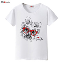 BGtomato Funny pets lovely Animal Printing T-shirts women cool summer tops cute cartoon shirts Brand Good quality casual tees