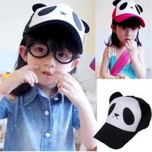 Fashion Child Boys Girls Caps Cute Character Panda Baseball Cap Kids Casual Casquette Children Baseball Cap Snapback Caps Hats