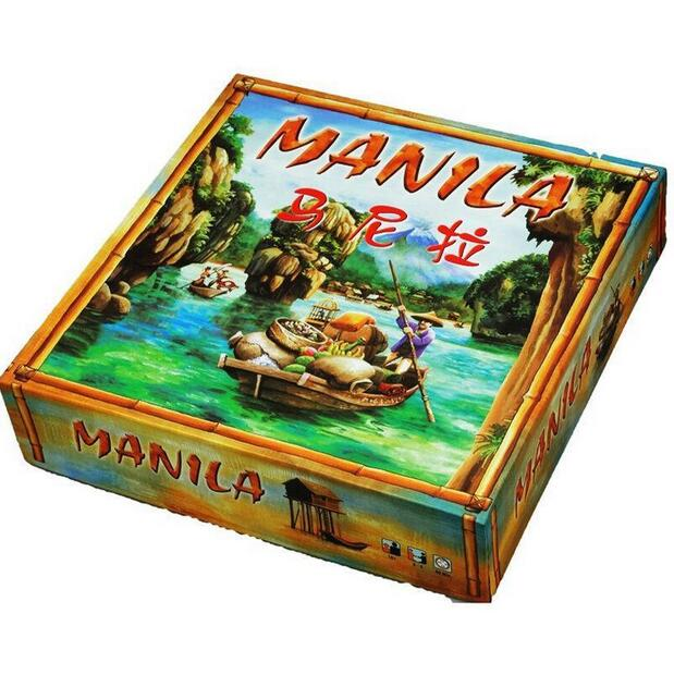 manila board game high quality  family game card game<br>