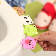 Bathroom Toilet Seat Clamshell Holder Accessories Bath Set Cartoon Toilet Cover Lifting Device Bathroom Toilet