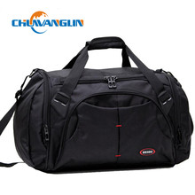 Chuwanglin Nylon Waterproof Bags Men Travel Bags Large Capacity Women Luggage Travel Duffle Bags ZDD05054(China)