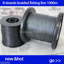 8 Strands Braided Fishing Line 1000m MOSS GREEN Super Strong Japan Multifilament PE Extreme braided line for fishing cord(China)