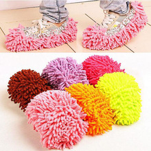 1 Pair Lazy Cleaner Dusting Cleaning Foot Shoe Mop Slipper Floor Polishing Cover Cleaner