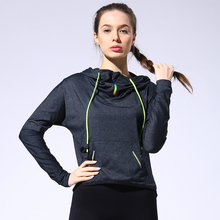 Women sports jerseys Yoga Shirt Fitness Gym sport shirt Quick Dry Running shirt Long Sleeve yoga top Body Shaper Tee Shirts