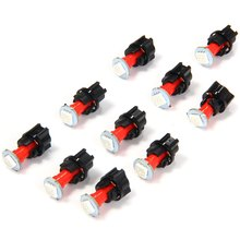 Car Twist Socket Instrument Panel Dash LED Light Bulb T5 PC74 SMD 5050 12V Dash Board Bulb Light Source Blue White Red Green