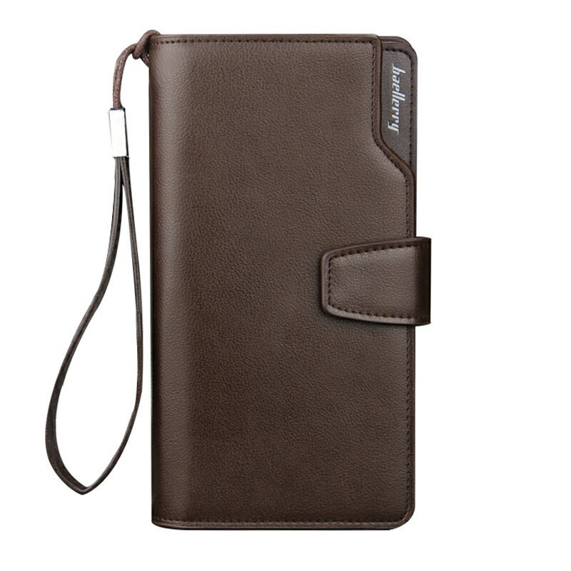 2017 New Fashion Men Wallets Casual Wallet Men  Clutch High quality PU Leather Long Wallet Zipper Design Purse Hand Bags Men <br><br>Aliexpress