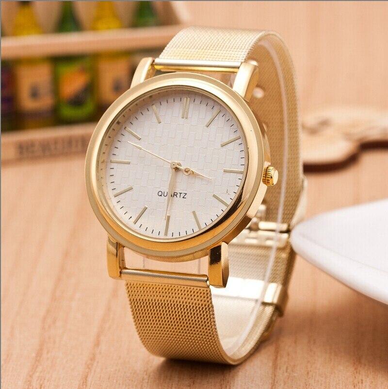 2016 New Golden Luxury Women Watch Hot Sell Fashion Clock Ladies Dress Watches Relogio Feminino Clock Hours<br><br>Aliexpress