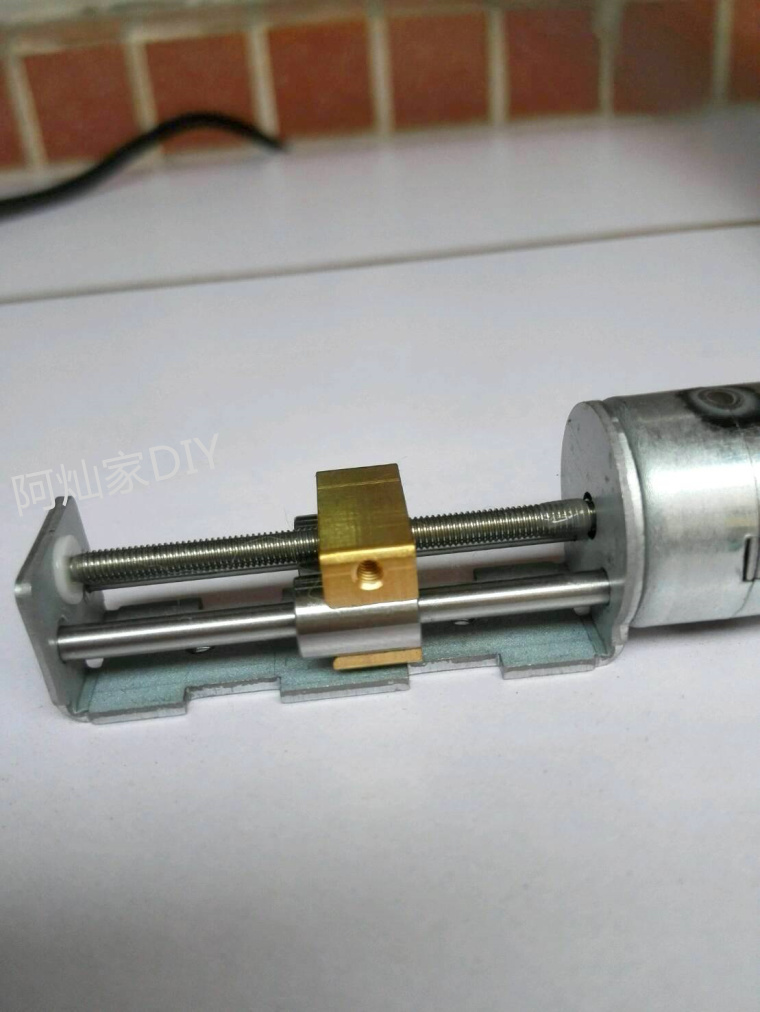Micro stepping slide step motor 20mm 2 phase 4 wire rod slider linear motor<br>