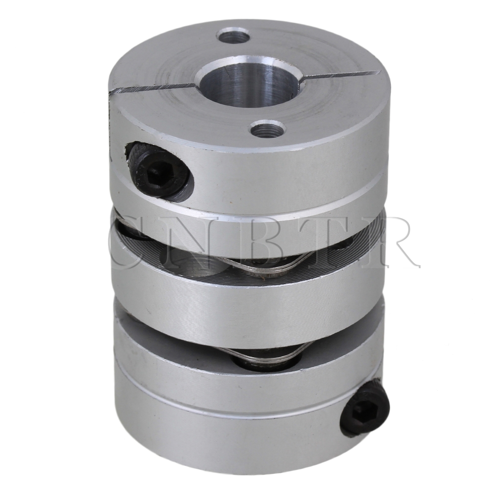 CNBTR D34mm L45mm Shaft Double Diaphragm Coupling Coupler 12x12mm Bore for Servo Motor<br><br>Aliexpress