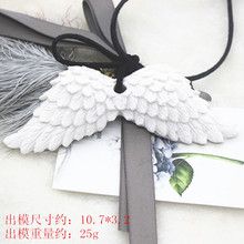 P683 angel wings Korean solid perfumed gypsum wax paraffin wax sheet capsizing silicone molds(China)
