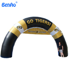 R002 Inflatable rainbow arch, inflatable advertising arch, striking advertising inflatable arch(China)