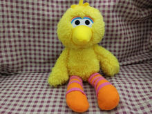 "Sesame Street NICE SOFT BIG BIRD 8"" Plush STUFFED ANIMAL Toy NEW(China)"