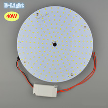 Modern 40w Round Led Ceiling Light Lamp Plate Circle Aluminum Disk Lamp Source Panel Lighting Ring Magnet Leg Indoor 110v 240v