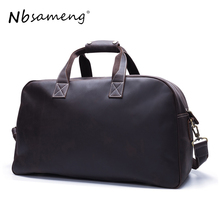 NBSAMENG New Designed Convenient Travel Duffle BagsMen Luggage Bags Unique Design Men Weekend Bag Waterproof Travel Bag(China)