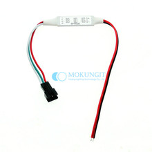 SP002E Mini 3Key smart Inline controller Input 3 Buttons Switching  for WS2812B WS2811 APA12 SK6812 8806 LED Strip DC5V-24V
