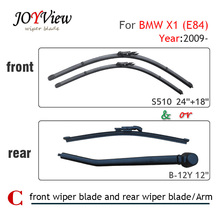 "Buy S510 24""+18"" Front Wiper Blade Rear Wiper Arm Blade BMW X1, E84 (2009 onwards), 12"" rear wiper blade BMW X1, E84 for $8.09 in AliExpress store"