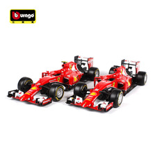 Bburago 1:24 F1 Formula 1 Racing Diecast Alloy Metal Model Car Toy 2015 SF15-T Sebastian Vettel 5# / Kimi Raikkonen 7# boys Gift