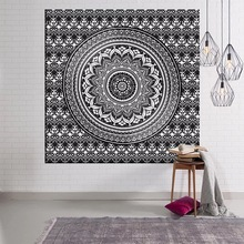 LFH Indian Wall Decor Hippie Tapestries Bohemian Mandala Tapestry Wall Hanging Throw wall art Collage dorm Beach Throw Bohemian