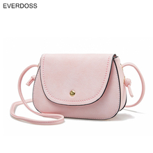 new simple leather shoulder messenger bags womens Ladies casual cross body handbags crossbody Small Bolsas femininas pink