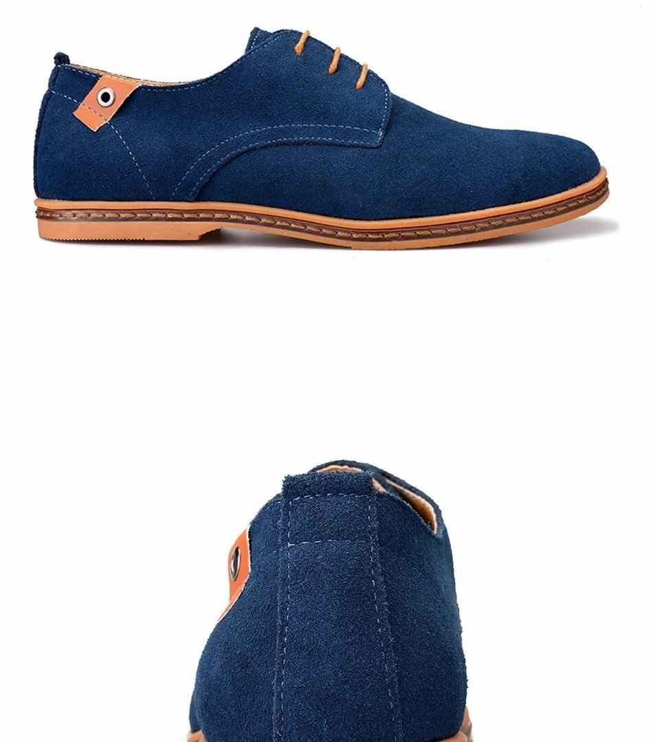 Classic Men Flats Gentleman Oxford Genuine Leather Dress Shoes Men Flat Shoes Luxury Casual Shoes Size 39-47 4