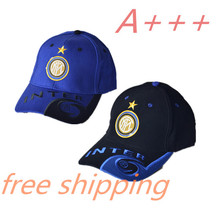 2017 Top quality snapback cotton black blue sports football baseball caps Adjustable  for Inter Milan hats free shipping