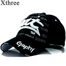 [[Xthree]wholesale snapback hats baseball cap hats hip hop fitted cheap hats for men women gorras curved brim hats Damage cap(China)