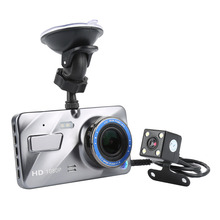 "Buy Dash Cam New Dual Lens Car DVR Camera Full HD 1080P 4"" IPS Front+Rear Mirror Night Vision Video Recorder Parking Monitor XNC for $35.39 in AliExpress store"