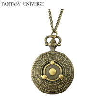 FANTASY UNIVERSE Freeshipping wholesale 20pc a lot naruto pocket Watch necklace Dia3.7CM HZSPR01