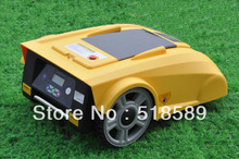 Free Shipping Robot Lawn Mower/mowers car LF008 Newest Funciton with Compass+lead-acid battery+Remote Controller(China)