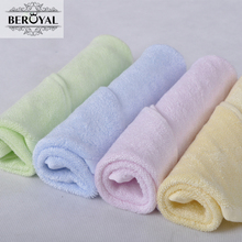 New 2017 Wholesale Baby Towel -- 20pc/Lot 25*48cm Bamboo Hand Towel Face Cloth Plain Dyed Children Bibs Soft Towels bathroom