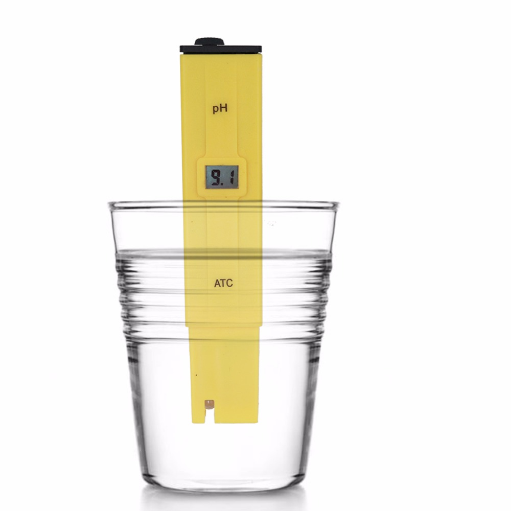 by dhl/fedex 100pcs/lot Portable Pen Water PH Meter Tester for Aquarium Pool Water Quality Laboratory with retail box % off 11