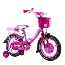 "12"" Dr bike Stitch Mermaid Pink Girls Bike Children Bicycle for Three to Six Aged Girl(China)"
