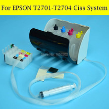 1 Set T2701-T2704 /T270 Ciss System For Epson With ARC Chip For Epson Printer WF 7110/7610/7620/3620/3640(China)