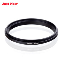 JUST NOW High-quality 2PCS 58mm to 62mm Male to Male Macro Reverse Coupling Ring Adapter for Lens Mount for Extension Tubes Adap(China)