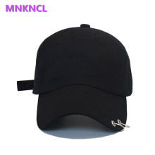 Hot selling 2017 BTS LIVE THE WINGS TOUR Fashion K POP Iron Ring Hats adjustable Baseball cap 100% handmade ring(China)