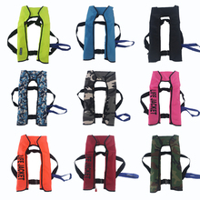 Swiming Life Vest Fishing Life Jacket 5 Sec Automatic Inflatable Top Rescue Vest CO2 15kg Buoyancy kayak Women/man Life Jacket