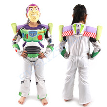 Children Clothes Toys Story Cosplay Costume for Kids Tim Allen Clothes Halloween costume for kids Party Dress with mask Hot Sale(China)