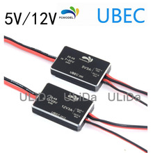 High Quality 5V/12V 3A UBEC Support 2-6S/3-6S Lipo Battery Fully Shielded Anti-interference Voltage Stabilizer(China)