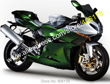 Hot Sales,Fashion Fairings For Benelli Tornad Tre 1130 900 2004-2013 Green Silver ABS Motorcycle Fairings kit Moto Parts