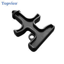 Topvico Easy Carry Keychain Self Defense Supplies Weapons Stinger Duron Drill Protection Tool Personal Defense Safety Security(China)