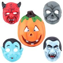 Halloween Party Cosplay Mask Pumpkin/Zombie/Vampire/Ghost/Ox Horn Full Face EVA New Mask Masquerade Dancing Costume Decoration(China)