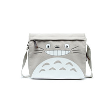 2017 new designed ACG shoulder bag canvas durable school bag daily use TOTORO bag anime fans kawaii bag AC253(China)