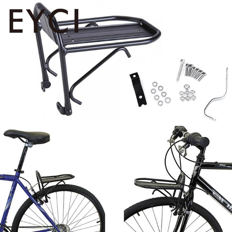 EYCI Bike Metal Front Shelf Cycle Bicycle Luggage Rack Goods Carrier Pannier Bracket