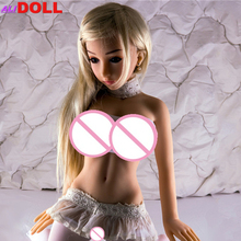New Elsa Love doll 100cm sex dolls real silicone skeleton vagina real pussy oral adult dolls for male Drop ship Free Shipping