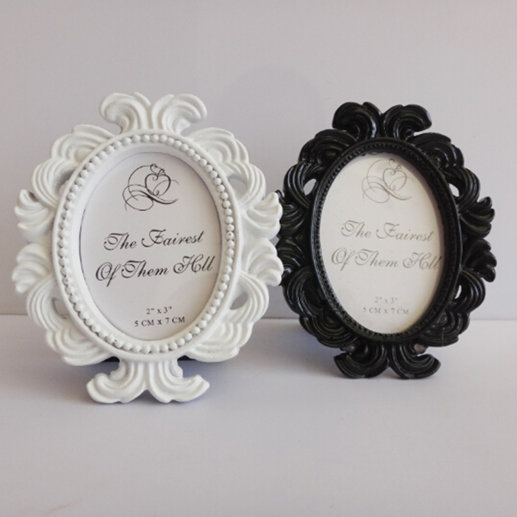 Online Cheap Floral Photo Frame Round Frame Picture Holder Wedding ...