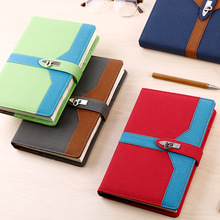 2017 A5 PU Faux Leather Notebook Agenda Planner Organizer Composition Personal Dairy Memos Travel Journal Office Notepad Books