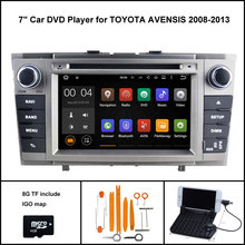 Android 5.1 CAR DVD GPS Player for TOYOTA AVENSIS CAR AUDIO PLAYER (2008-2013)